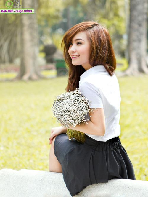 Hot girl Nana xinh tươi tuổi học trò - 23