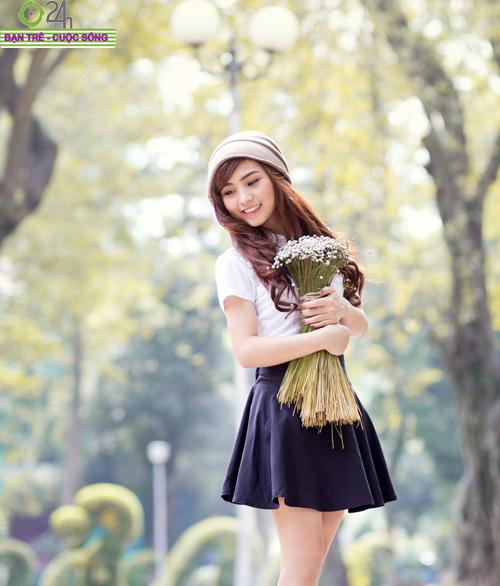 Hot girl Nana xinh tươi tuổi học trò - 24