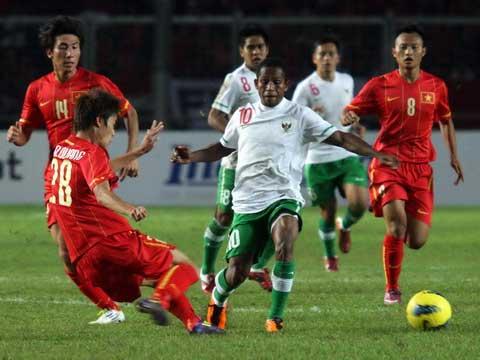 Video U23 Indonesia - U23 Việt Nam: Khó cưỡng - 1