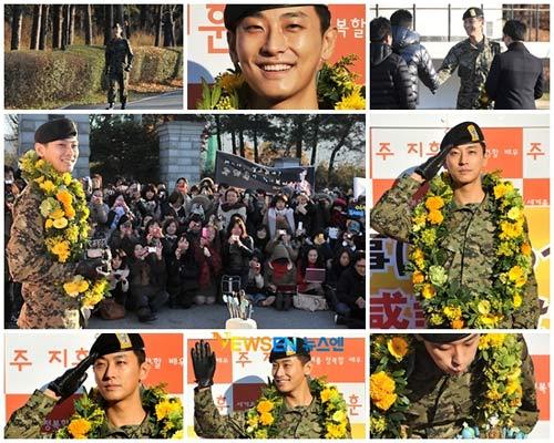 """""""Thái tử"""" Joo Ji Hoon đã xuất ngũ - 4"""