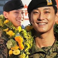"""""""Thái tử"""" Joo Ji Hoon đã xuất ngũ"""