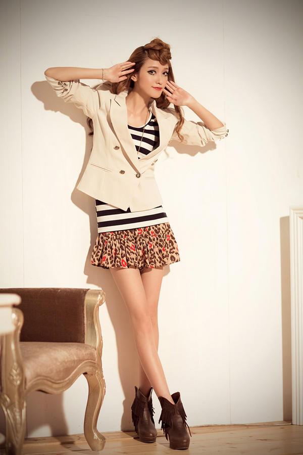 9 bước chọn quần áo cho nàng chân ngắn - 3