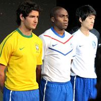 Ngắm trang phục mới của ĐT Brazil, Hà Lan, Pháp…
