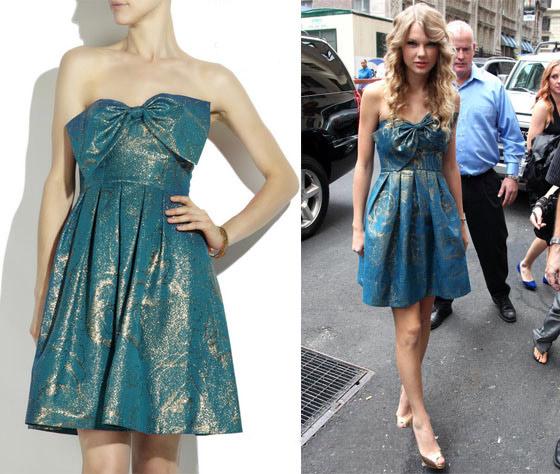 Bóc mác đầm xinh yêu của Taylor Swift - 1