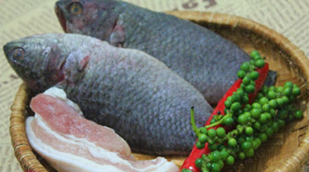 Ngon mê cá rô kho tiêu - 1