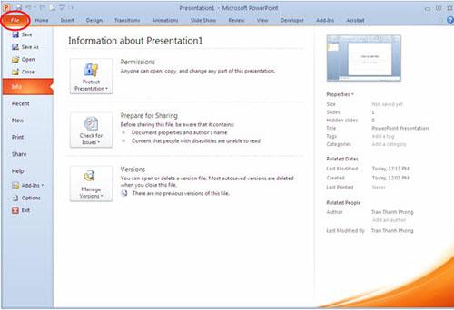 Hướng dẫn sử dụng PowerPoint hiệu quả - 1