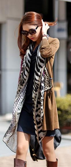 Tư vấn: Mặc đẹp hơn với khăn quàng cổ - 7