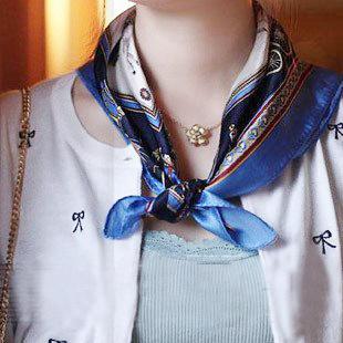 Tư vấn: Mặc đẹp hơn với khăn quàng cổ - 9