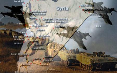 Syria bị tấn công - 1