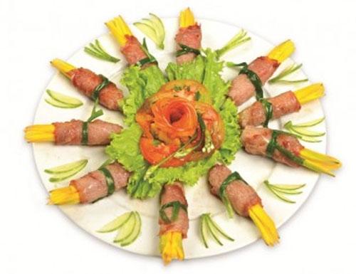 Nếm thử món ngon bổ từ hoa kim châm - 1