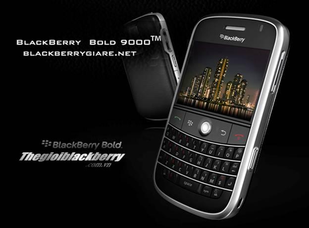 Khuyến mại Blackberry Bold 9000 cao cấp - 5