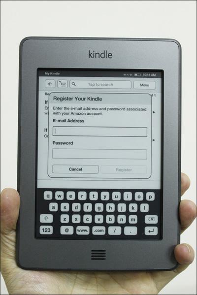 Trên tay máy đọc sách Kindle Touch tại Việt Nam - 12