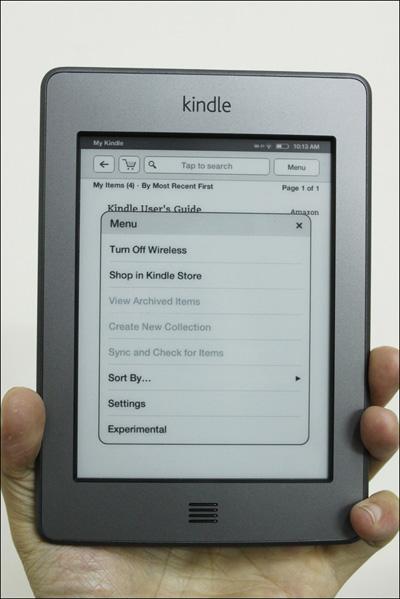 Trên tay máy đọc sách Kindle Touch tại Việt Nam - 13