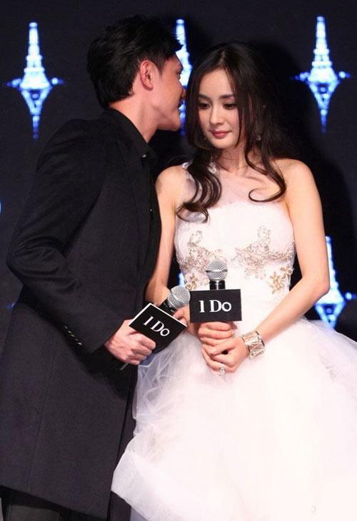 Dương Mịch, Thiệu Phong trao nhẫn cưới - 3
