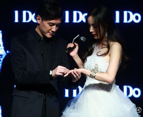 Dương Mịch, Thiệu Phong trao nhẫn cưới - 6