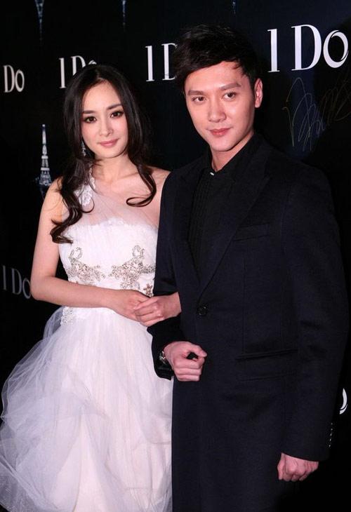 Dương Mịch, Thiệu Phong trao nhẫn cưới - 2