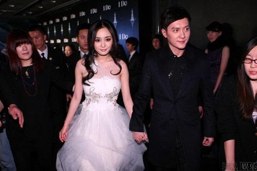 Dương Mịch, Thiệu Phong trao nhẫn cưới - 1