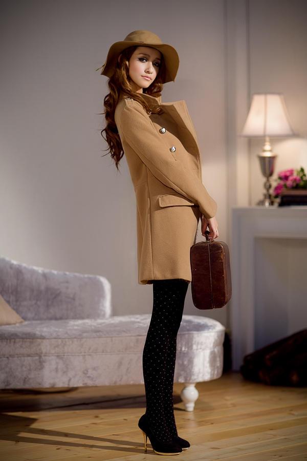 Chọn áo choàng cho cô nàng mùa đông - 3