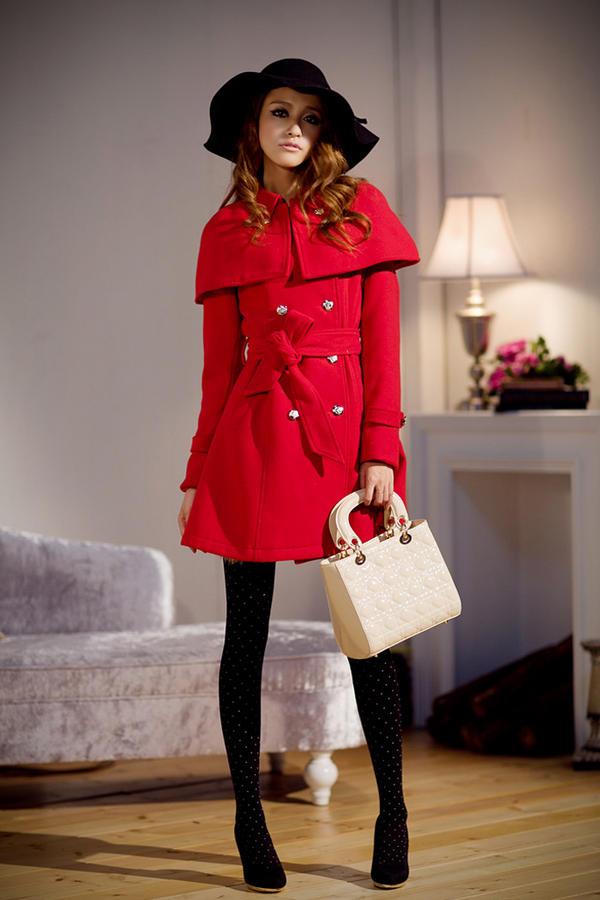 Chọn áo choàng cho cô nàng mùa đông - 14