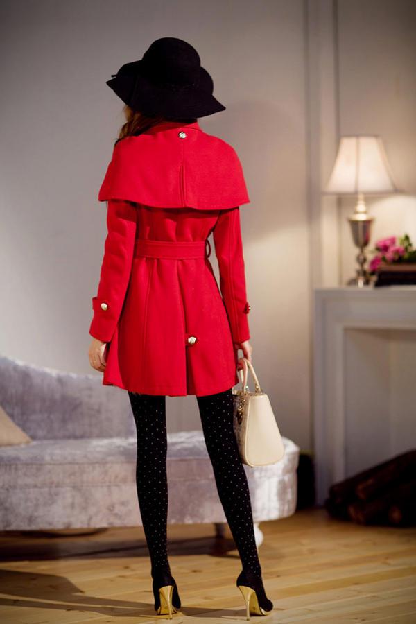 Chọn áo choàng cho cô nàng mùa đông - 15
