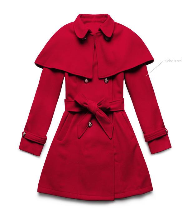 Chọn áo choàng cho cô nàng mùa đông - 16