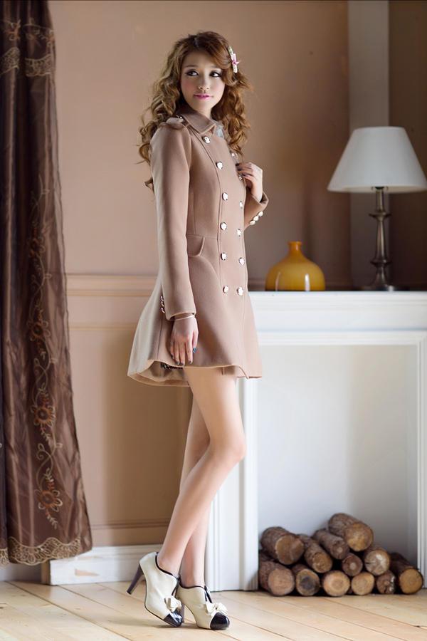 Chọn áo choàng cho cô nàng mùa đông - 4