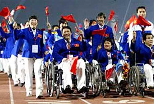 Đoàn thể thao người khuyết tật Việt Nam xuất quân - 1
