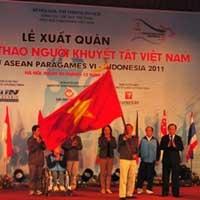 Đoàn thể thao người khuyết tật Việt Nam xuất quân