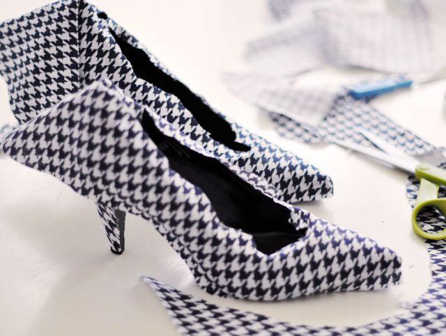 Cách biến giày cao gót cũ thành mới - 13