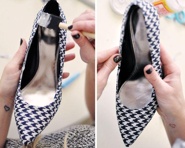 Cách biến giày cao gót cũ thành mới - 16