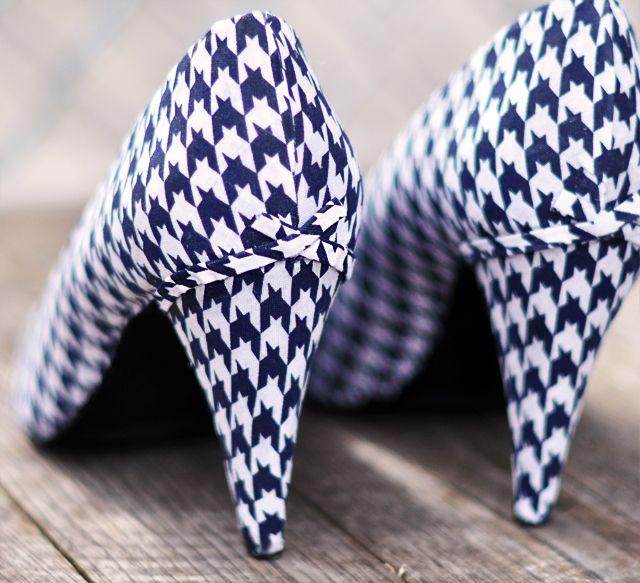 Cách biến giày cao gót cũ thành mới - 18