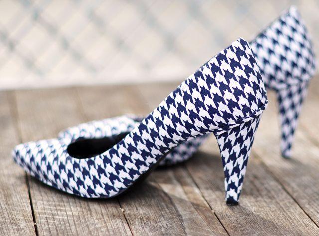 Cách biến giày cao gót cũ thành mới - 19