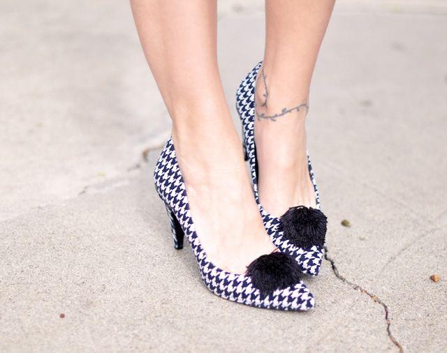 Cách biến giày cao gót cũ thành mới - 23