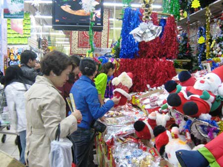 Nhộn nhịp quà tặng trước mùa giáng sinh - 1