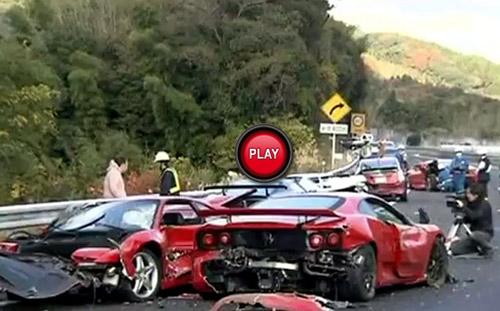 Kinh hoàng vụ tai nạn siêu xe đắt nhất mọi thời đại - 1