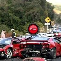 Kinh hoàng vụ tai nạn siêu xe đắt nhất mọi thời đại