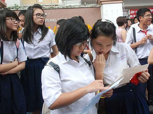 Xét tuyển lớp 10 TP.HCM: Thực hiện điểm sàn - 1