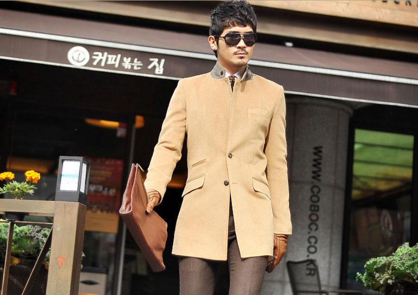 Áo dạ phong cách Hàn Quốc cho chàng - 3