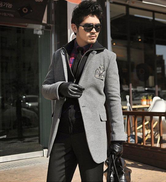 Áo dạ phong cách Hàn Quốc cho chàng - 6