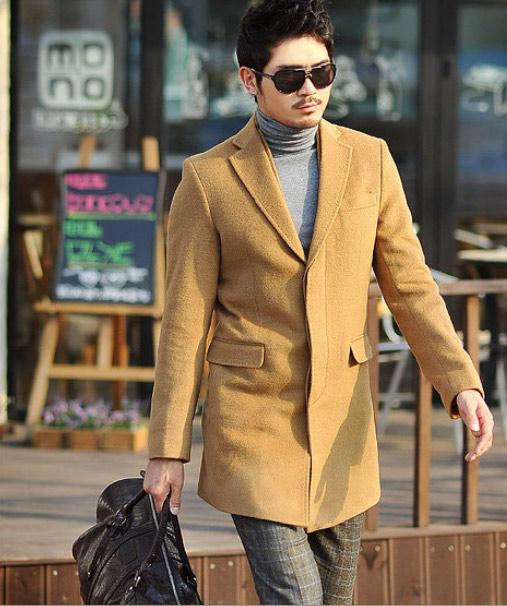 Áo dạ phong cách Hàn Quốc cho chàng - 13