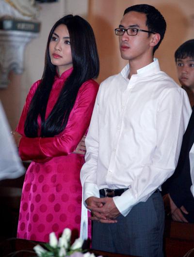 5 cặp đôi mặc đẹp của showbiz Việt 2011 - 6