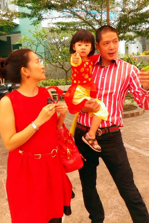 Vợ Bình Minh mang thai lần hai - 1