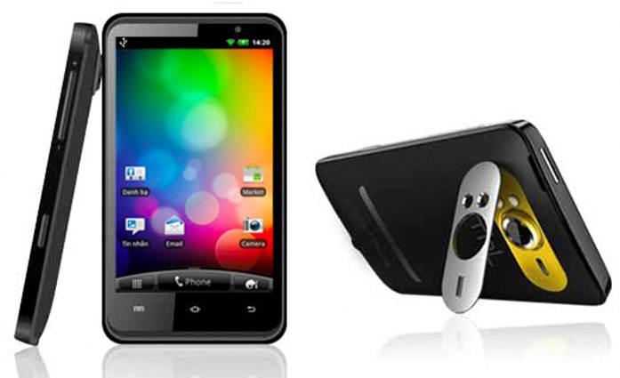 Smartphone HD7 3G tốc độ 1GHz khuấy động thị trường - 1