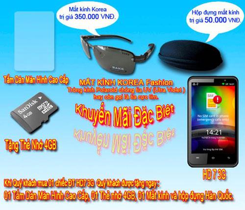 Smartphone HD7 3G tốc độ 1GHz khuấy động thị trường - 6