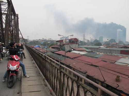 Chùm ảnh vụ cháy tòa nhà EVN - 2