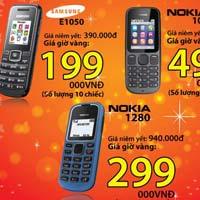 Giờ vàng, giá shock tại Nhật Cường mobile