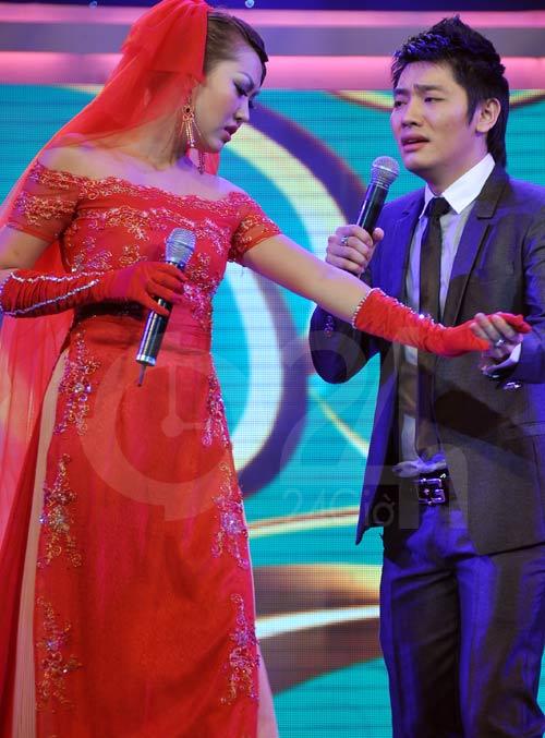 Phi Thanh Vân ngượng mặt với Bảo Thy - 9