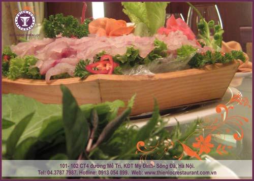 Thưởng thức cá vược tươi sống tại nhà hàng Thiên Lộc - 4