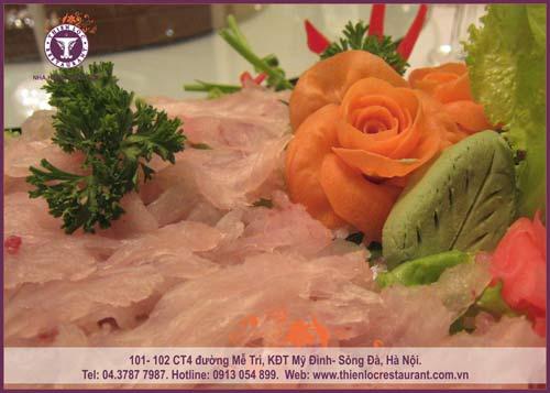 Thưởng thức cá vược tươi sống tại nhà hàng Thiên Lộc - 5