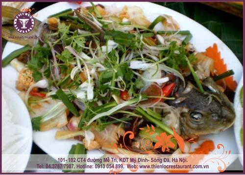 Thưởng thức cá vược tươi sống tại nhà hàng Thiên Lộc - 9